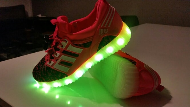 chaussures sneakers led × chaussure led pour enfant × led sneakers aliexpress