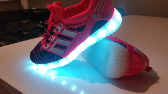 led chaussures - Chaussure lumineuse - LED Chaussures & Basket lumineuse • AliExpress