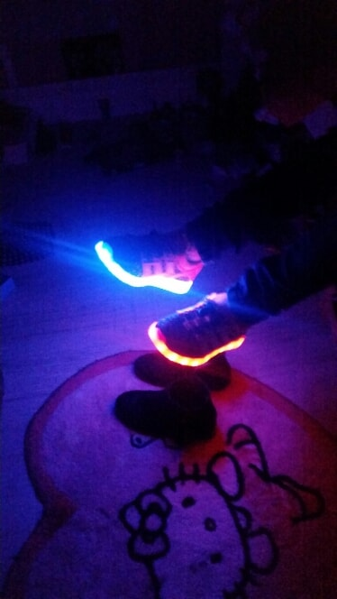 chaussures à roulettes fille - Chaussure lumineuse - LED Chaussures & Basket lumineuse • AliExpress