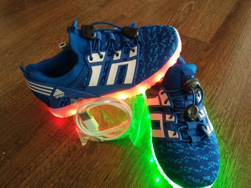 Сhaussures led femme.Chaussure lumineuse - LED Chaussures & Basket lumineuse • AliExpress