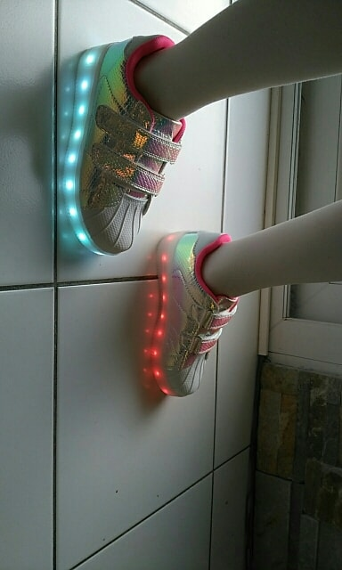 LED Chaussures & Basket lumineuse • AliExpress Finds