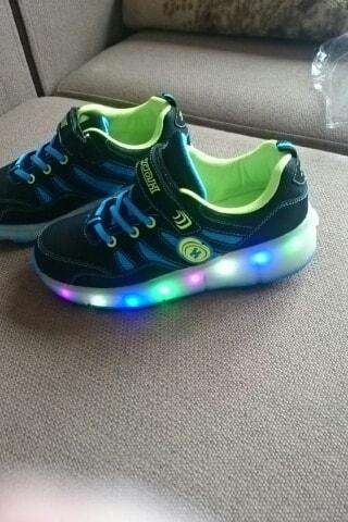 zapatos de rodillo,zapatillas led bebe,