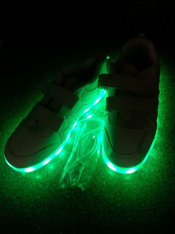 zapatillas led,