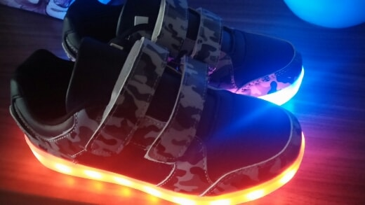 zapatillas con luz aliexpress,