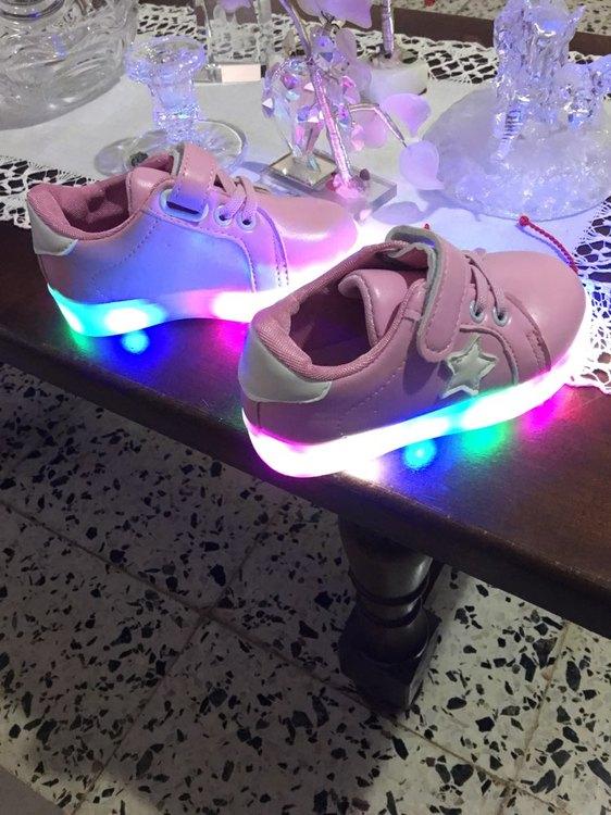 zapatillas led apagadas, zapatillas led bebe, zapatillas led barcelona,