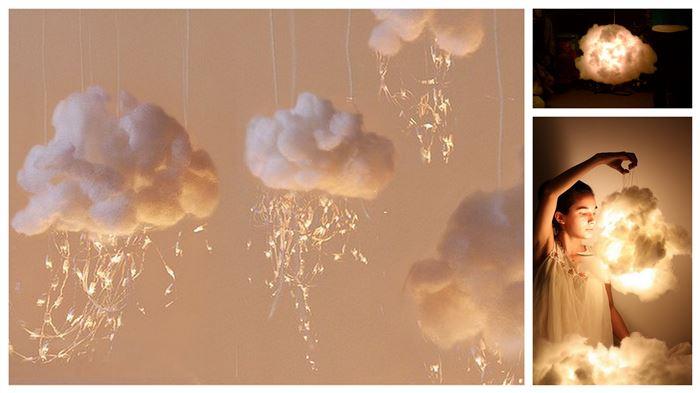 Светодиодное облако - ночник в детскую!