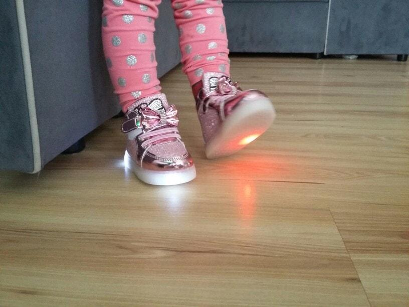 ledowe buty dla dzieci,