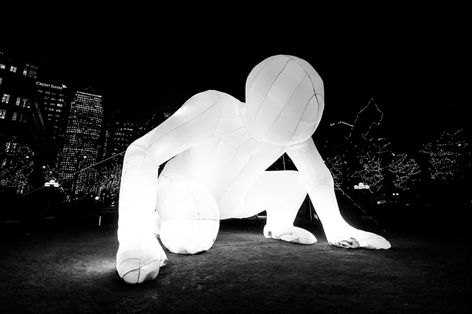 Led Light Figures/Led Outdoor Figures - Luminous Inflatable Figure - luminous inflatable figure × light installations