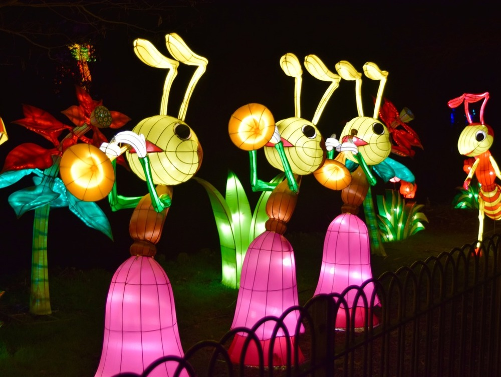 Led Light Figures/Led Outdoor Figures - Luminous Inflatable Figure