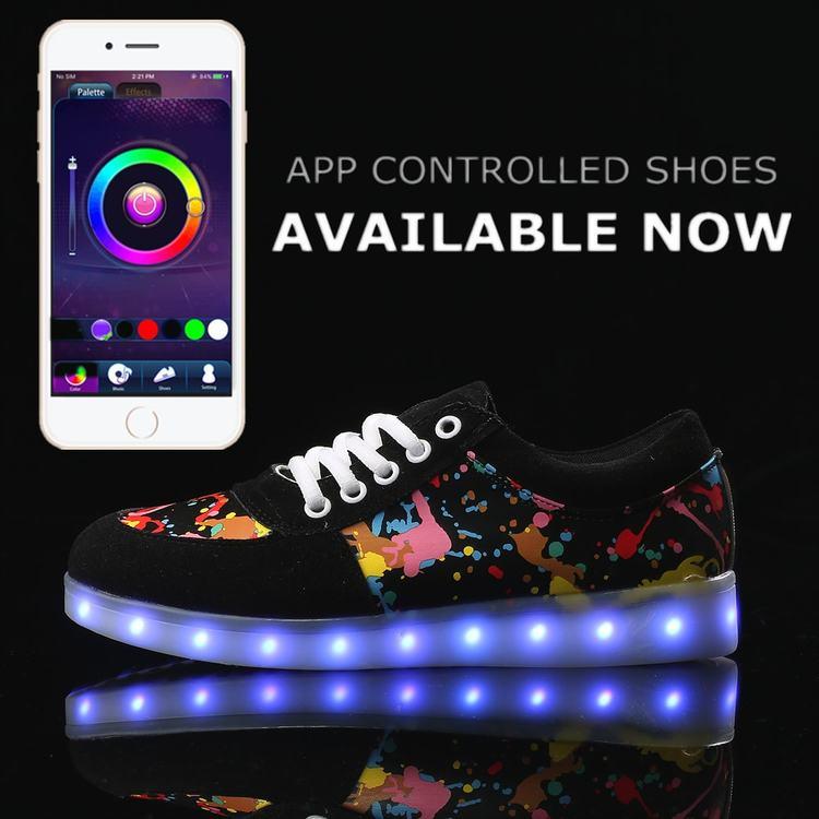 Svítící boty dětské - LED svítící kolečka na boty • Svítící tenisky 10.jpg