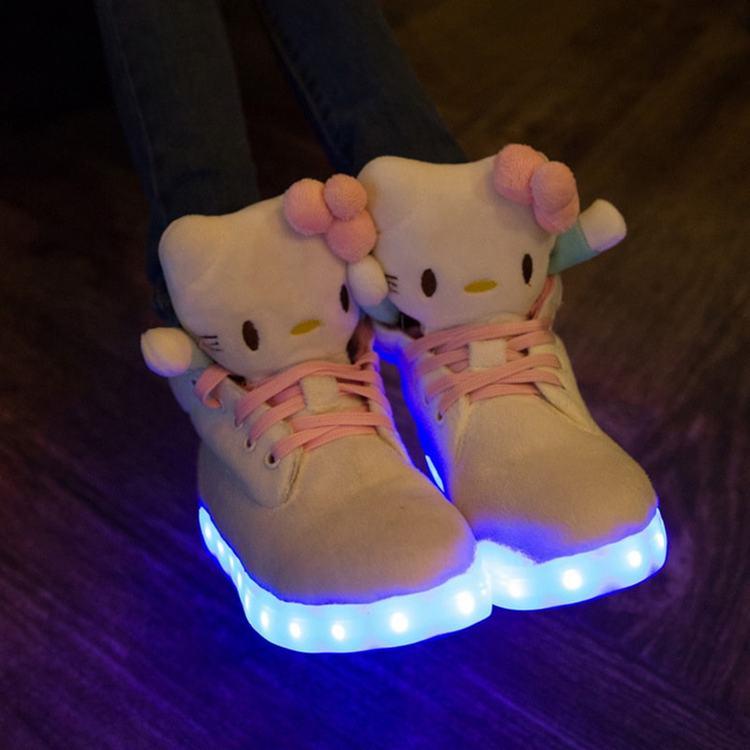 LED sko til barn & LED barnesko • LED-skoene, sko med led lys - led sko dancers ×  led sko norge