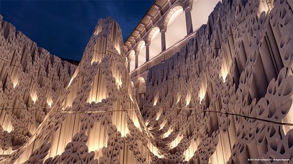 LED light installations