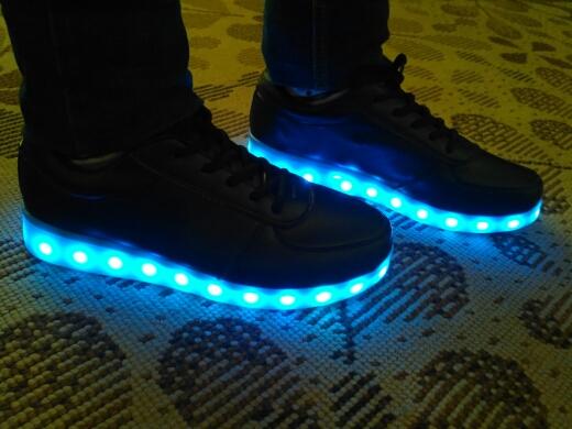 led sko voksne, led sko oslo, led sko, led sko norge, led sko sort, led skoen,