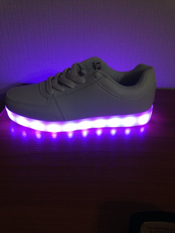 led skoen, led sko dancers, led lys sko, led sko for voksne,