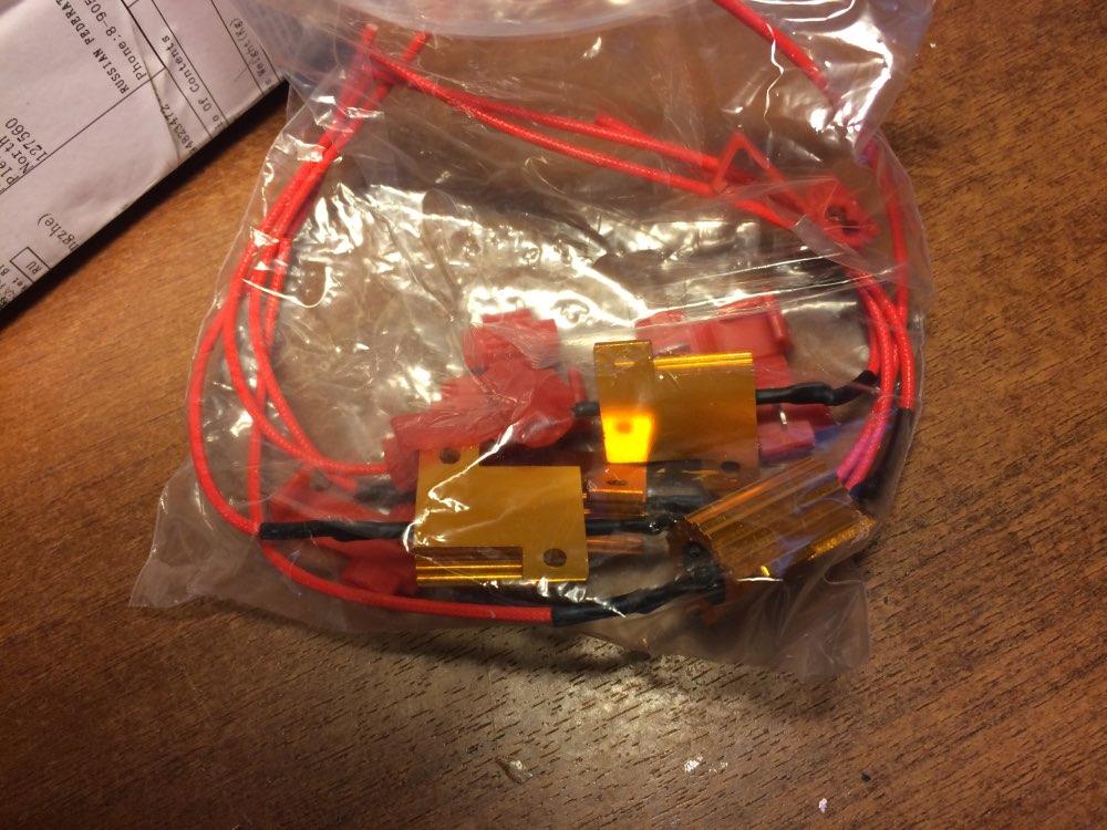светодиодная лампа габаритов с обманкой - обманки для светодиодных ламп h7 × c5w светодиодная с обманкой ×