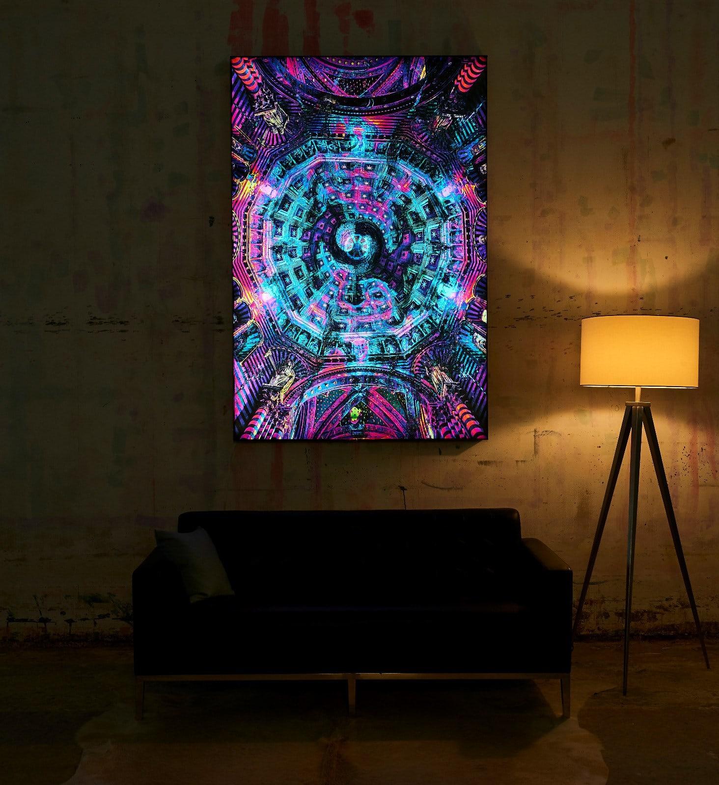 LED Backlit Frame, Poster, Photo - Big Naked Wall - Reviews ...