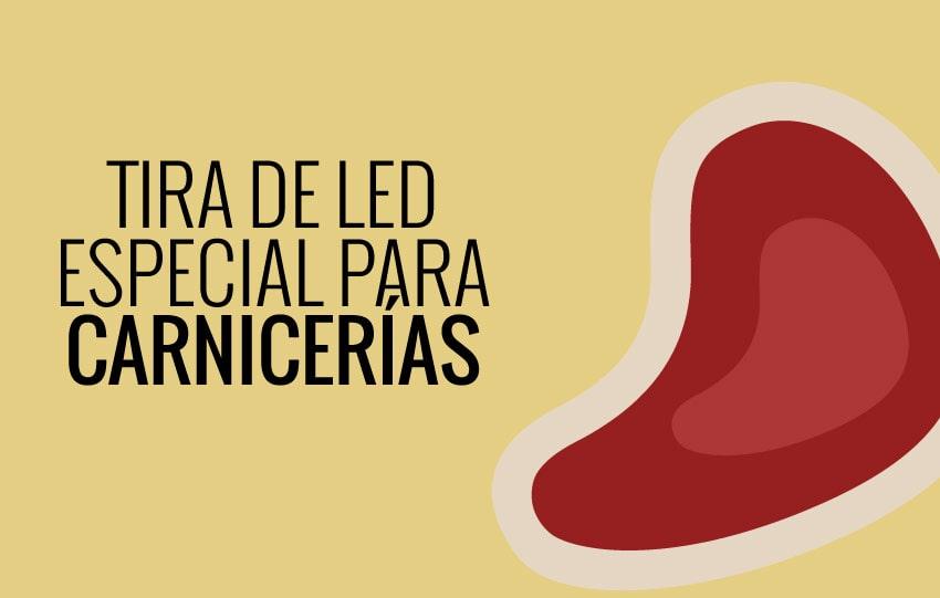 Tira de LED con luz rosa para carnicería - tiras de led ×  tiras led para alimentación × tiras led flexibles ×  tira led high power × tiras led iluminacion × tiras led para iluminacion
