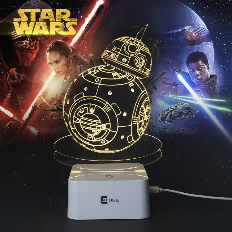 star wars led lamps ×  led night light × 3d illusion led light ×  3d led lamps