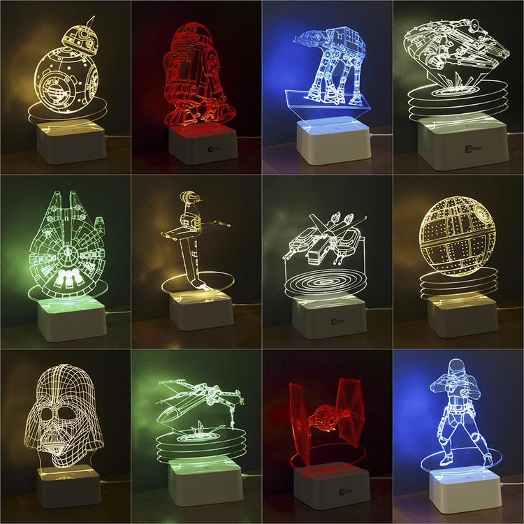 3d illusion led lamps × 3d led decor lights ×  3d led deco lights