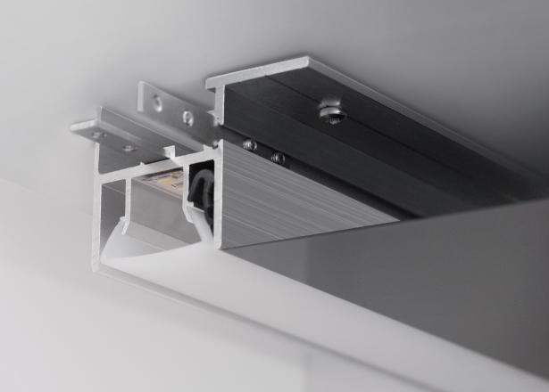 светодиодный профиль для натяжного потолка