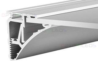 023788 Профиль KLUS SHELF-620-2000-SET ANOD