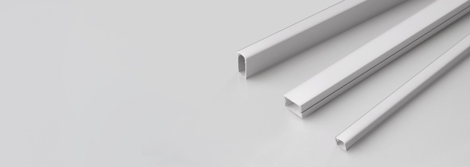 Профиль для герметичных светодиодных лент в силиконовой оболочке