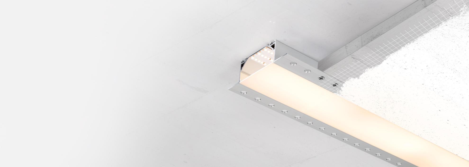 Профиль для светодиодной ленты FANTOM – создан быть незаметным