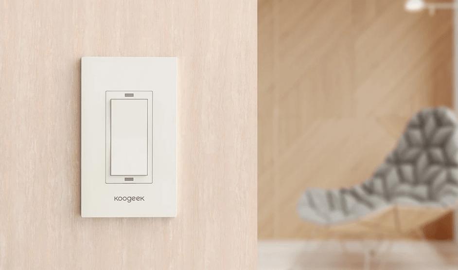 15 LED-lyspære, WiFi stikkontakt, Lysbryter Smart hjem