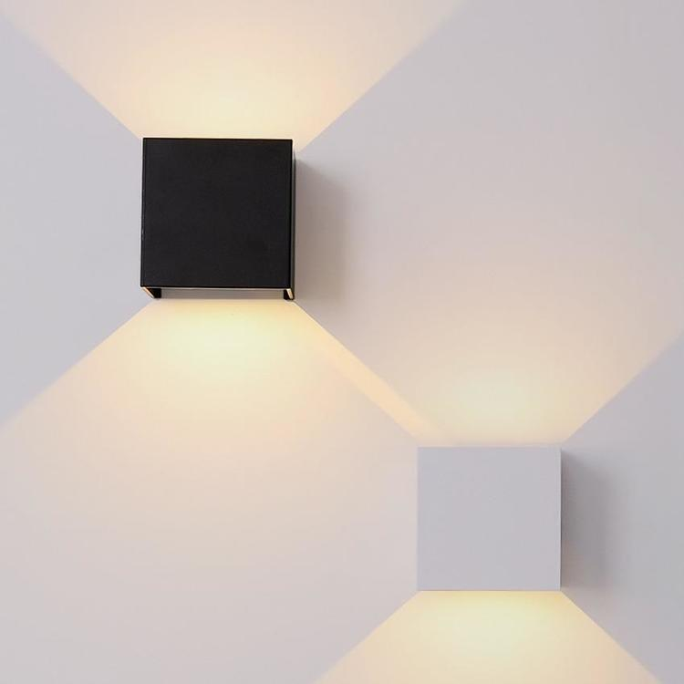 bleufonce Lighting Direct Store - Outdoor Waterproof IP65 Wall Lamp Modern LED Wall Light Indoor