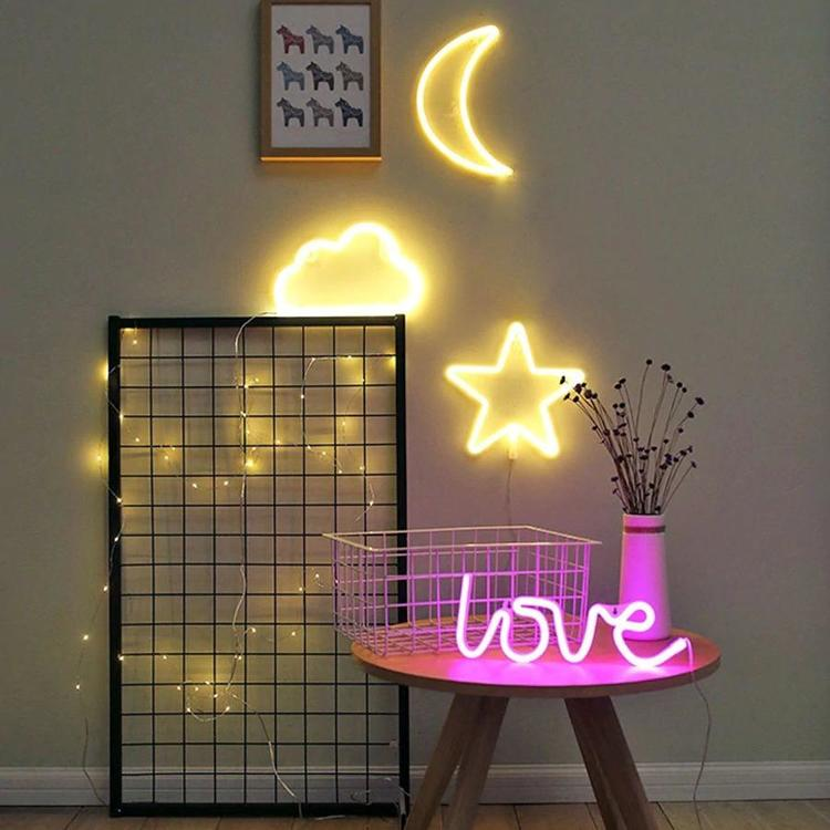 Lmid Official Store - led night light battery USB Charging love decorative letters holiday flamingo