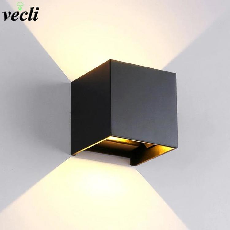 Shenzhen Vecli Lighting Store - Led Wall Lamp modern Aluminum Adjustable Surface Mounted Cube Led