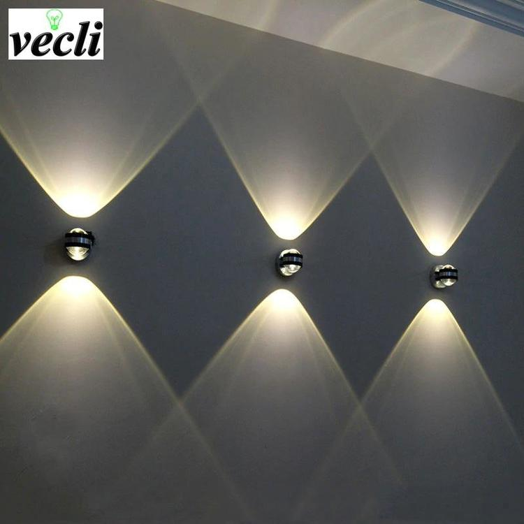 Shenzhen Vecli Lighting Store - Up down wall lamp led modern indoor hotel decoration light living
