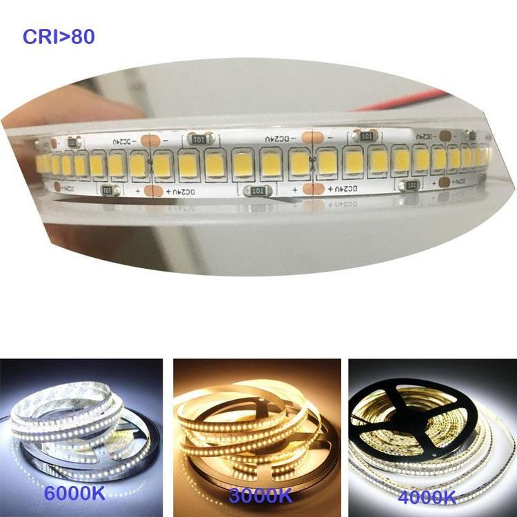 Gree Lamps And Components Limited - 1200 LED 2835 Bande LED 12V 24v lights strip Flexible Light