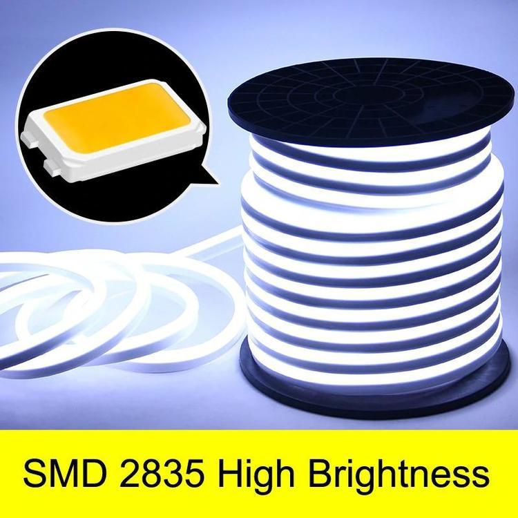 ZHINUO Official Store - Led Strip Light 220V SMD2835 120led/M Waterproof Flexible Fairy Lighting