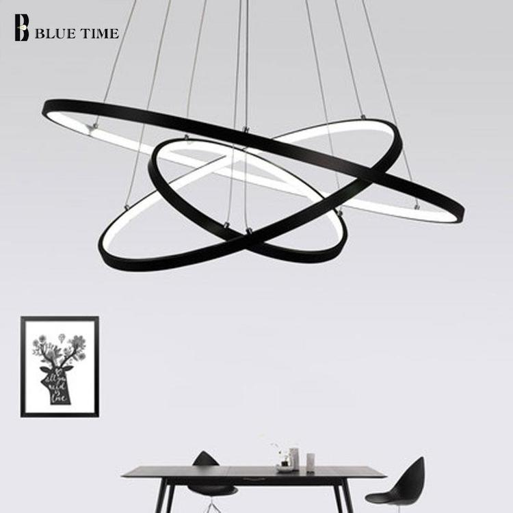 GL led lighting co.,Limited - Modern Pendant Lights For Living Room Dining Room Circle Rings Acrylic pendant lights ×  pendant lights ring × ceiling lamps ×  ceiling lamp