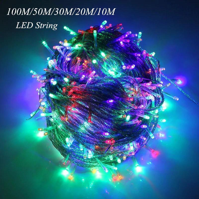 Led String Fairy Light Holiday Patio