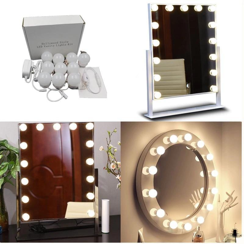 Led Vanity Mirror Lights Kit With