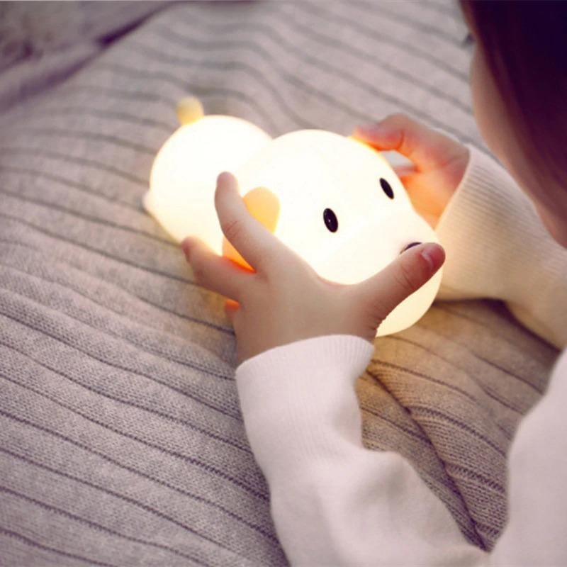 Dimmable Led Night Light Lamp Touch
