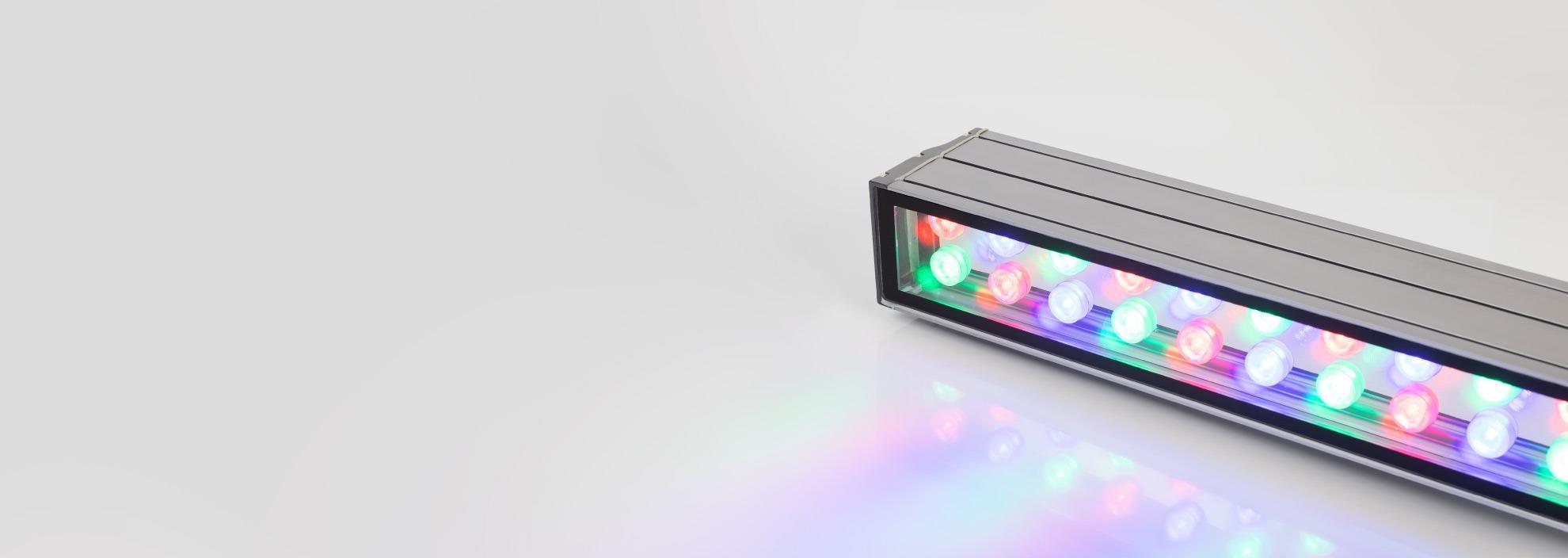 Светодиодные линейные прожекторы серии LINE для архитектурной подсветки зданий, парков, различных прилегающих территорий