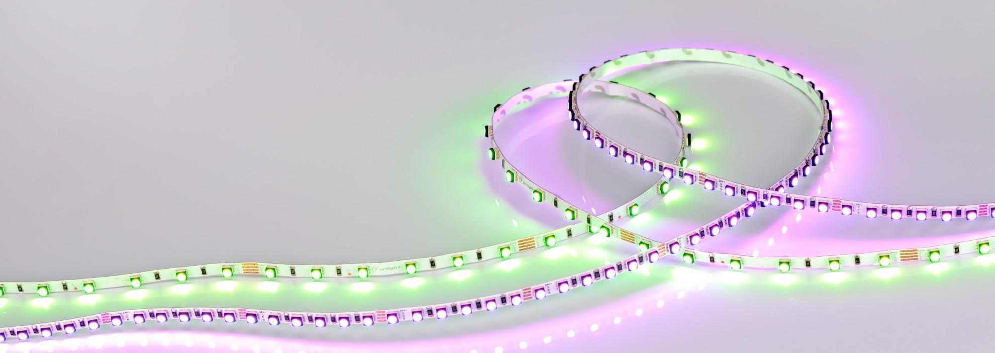 Светодиодные RGB-ленты Mini станут отличным решением для интерьеров с нестандартными дизайнерскими задумками!