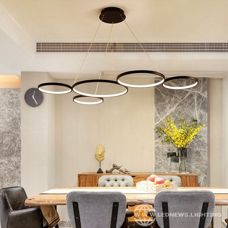 Modern Minimalism LED Pendant Lights for Dining Kitchen Room Living Room Pendant Lamp