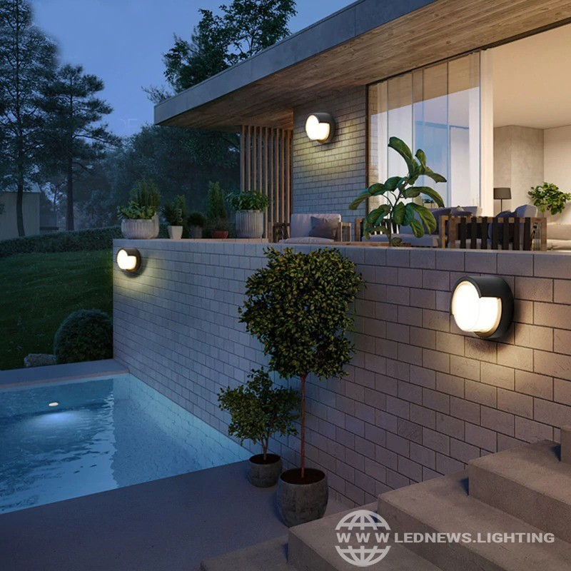 $31.85 - 42.80 Outdoor Wall Light Waterproof IP55 LED Porch Light Wall Sconce Doorway Lighting Aluminium Lamp Morden Balcony Lights AC 85-265V